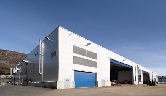 Produksjonsbygg i stål for Westcon Yards