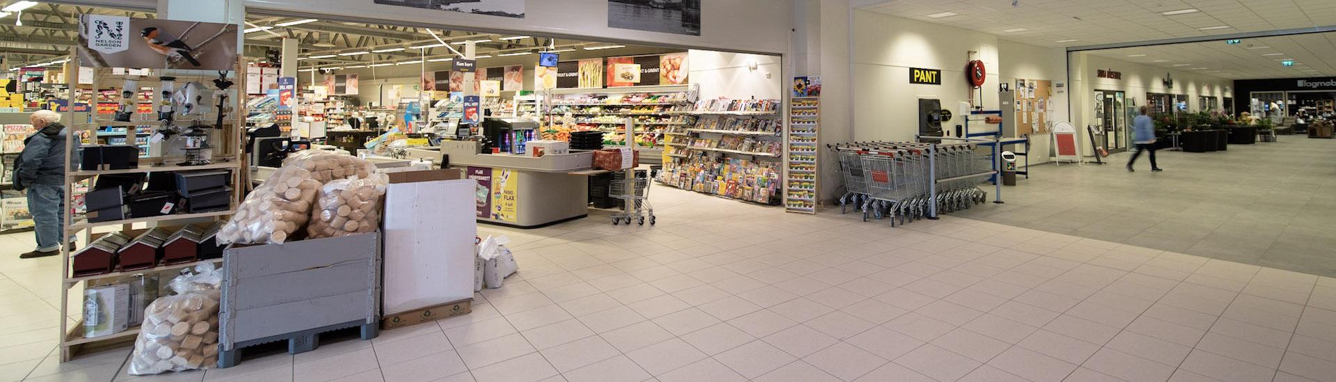 Butikklokale i stålbygg for Smøla Butikk