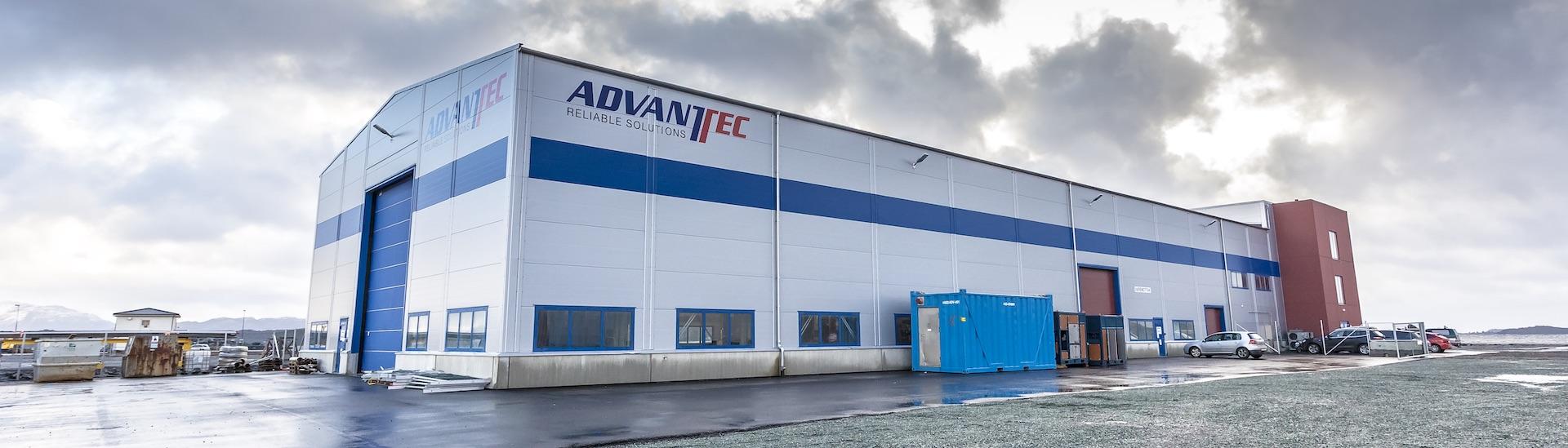 Produksjonsbygg i stål for Advantec Stord
