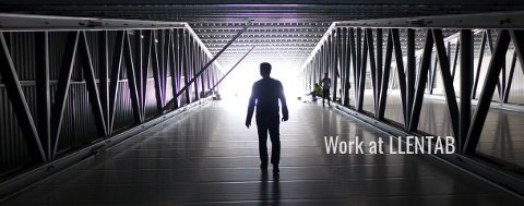 Slider: work at LLENTAB