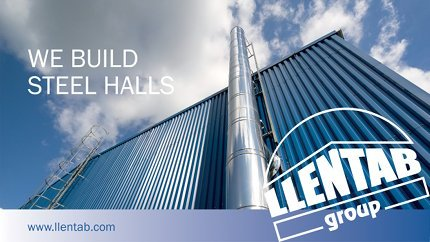 Introducing LLENTAB steel halls